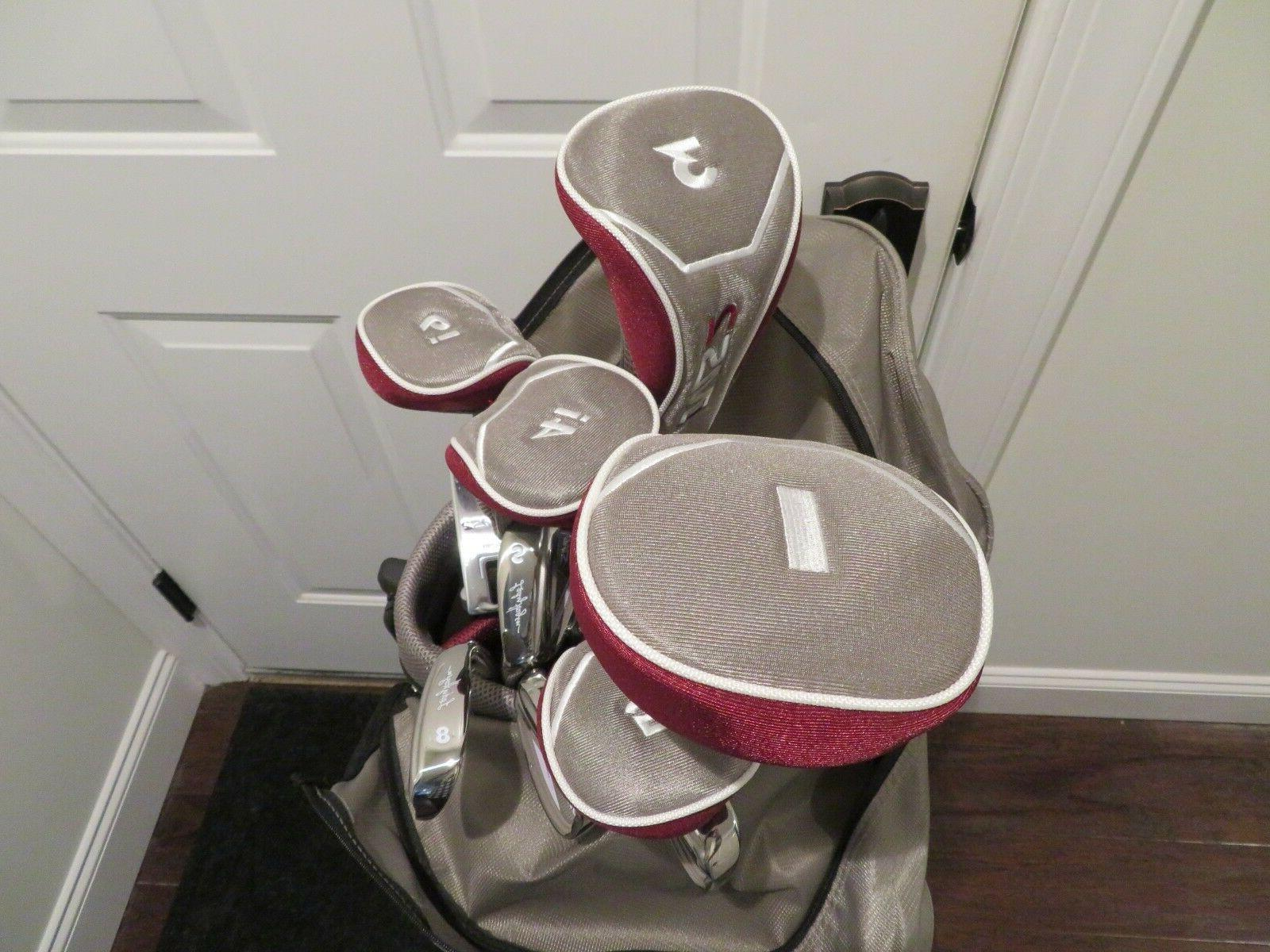 Womens Lady Halogen Golf New Complete Set Bag All