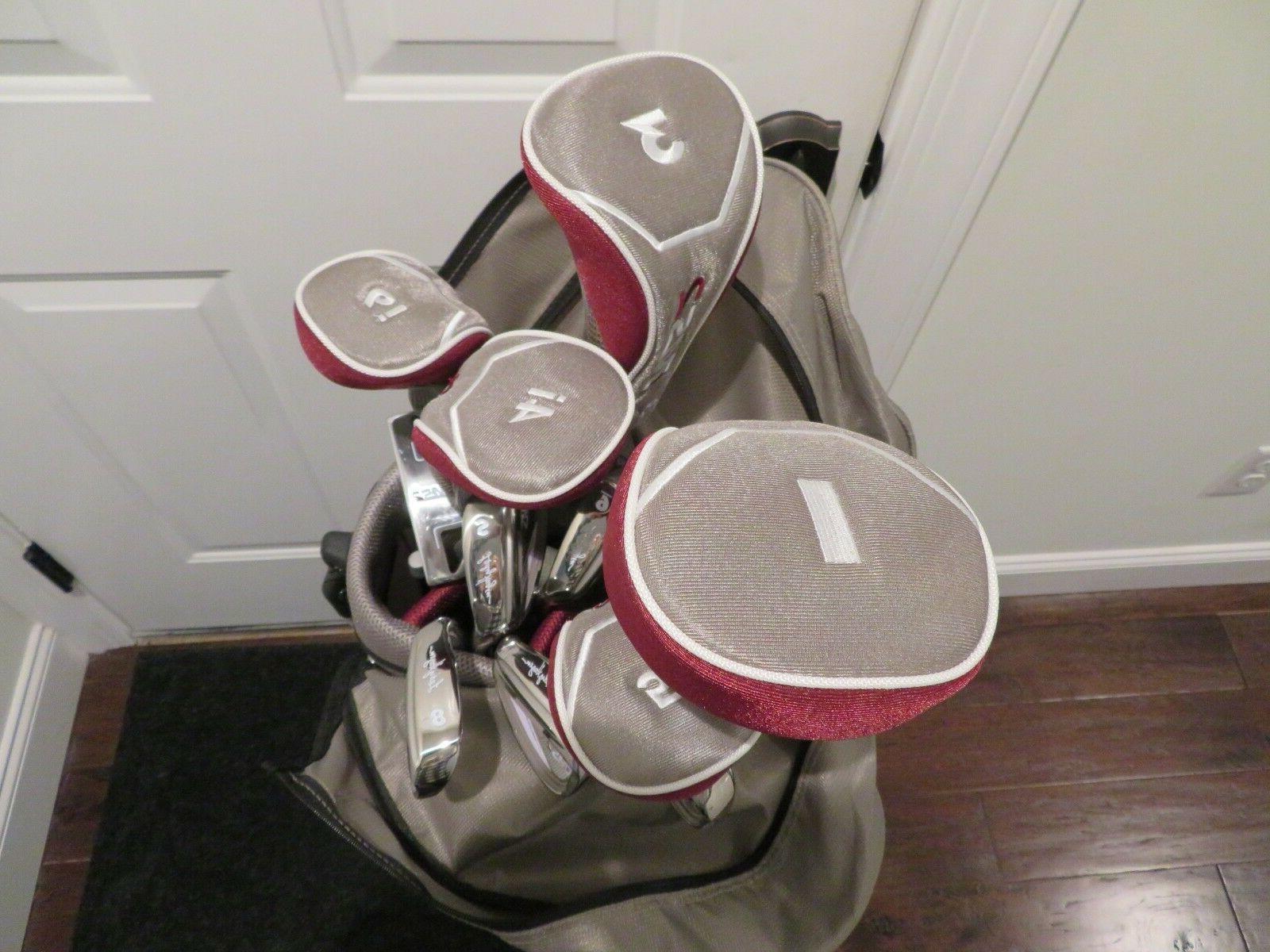 Womens Lady Golf Set New Bag