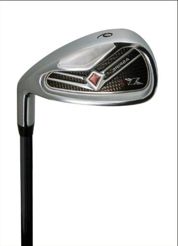 Aspire Complete Handed Clubs Set Hybrid, 6-PW Putter, Stand H/C's