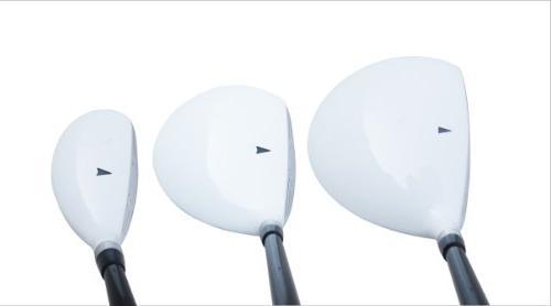 Aspire X1 Womens Complete Handed Golf Clubs Set Titanium Driver, Fairway, Hybrid, Putter,