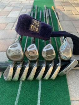 Ladies Cobra Hybrid Irons Driver Woods Complete Golf Club Se