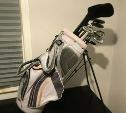 Ladies Complete Golf Club Set & Bag, Right Handed, Good Cond
