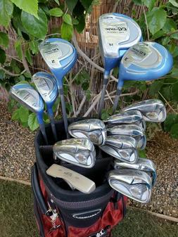 Ladies Complete Golf Set Confidence Irons 4-SW Nitro Hybrid