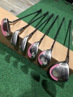 Ladies Adams Golf IDEA a12 OS Complete Wood Set Plus Hybrids