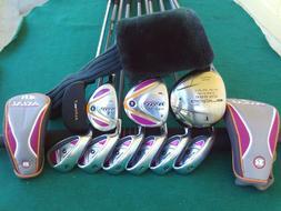 Ladies King Cobra Ram Irons Driver Wood Hybrid Complete Golf