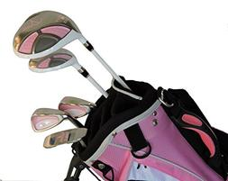Sephlin - Lady E Pink Left Handed 5 Pieces Girls Golf Clubs