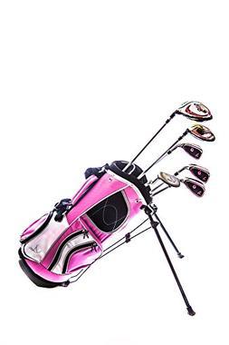 Sephlin - Lady E Girls Pink Right Hand 6 PCS Golf Clubs Set