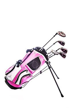 Sephlin - Lady E Girls 5 Pieces Right Hand Pink Golf Clubs S