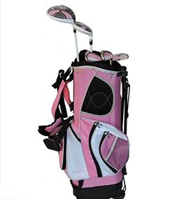 Sephlin - Lady Jayde Pink Girls Golf Club Set & Golf Bag Age