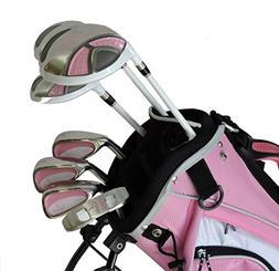 Sephlin - Lady E Pink Left Hand 7 Pieces Golf Clubs Set & Go