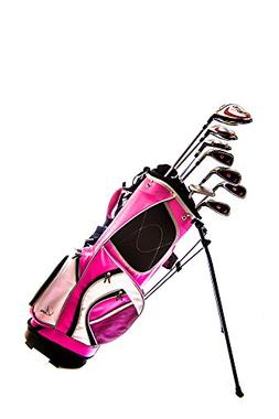 Sephlin - Lady Talia Pink Right Hand 8 Pcs Golf Club Set and