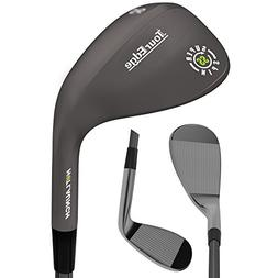 Tour Edge Hot Launch HL3 Super Spin Black Nickel Wedge - Rig