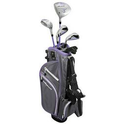 NEW PowerBilt Lavender Series Junior Golf Set Driver Hybrid