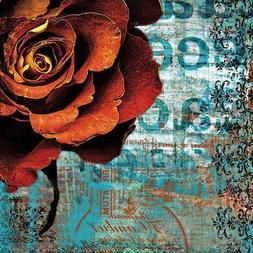 """""""Graffiti Rose"""" By Christina Lazar Schuler, Fine Art Giclee"""