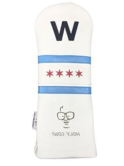 Sunfish Leather Driver Golf Headcover Cubs Win Fly The W