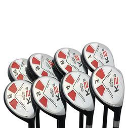 Left Hand-Majek Golf  Senior Lady Hybrid Set  Lady Flex Club