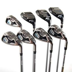 NEW Left Handed Cobra Baffler XL 4-PW+GW Hybrid Irons Graphi