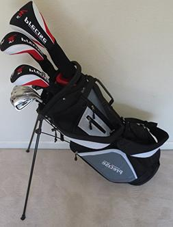 NEW Mens Left Handed Complete Golf Set Custom Made Clubs for