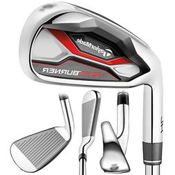 TaylorMade New Left Handed Golf AeroBurner HL 4-PW+AW Irons