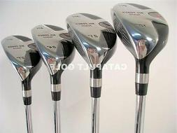 LEFT HANDED HYBRIDS LEFTY GRAPHITE SHAFTS LH GOLF CLUBS