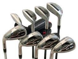 Adams NEW Left Handed Idea a12 OS 4-PW+GW Hybrid Irons Steel