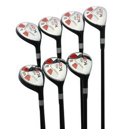 Left Handed - Majek Golf Senior Men's All Hybrid Full Set  ""