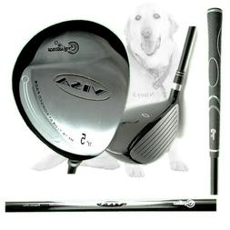 Confidence Visa Lefty Fairway 5 Wood Left Hand Men