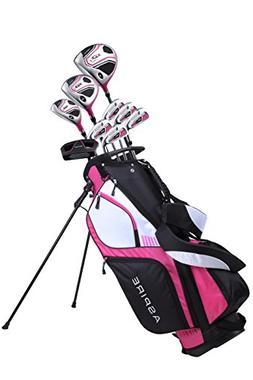 Premium Lightweight Ladies Golf Club Set Right Hand - Cherry