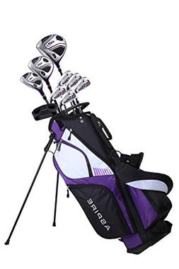 Premium Lightweight Ladies Golf Club Set Right Hand - Cherry