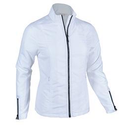 Monterey Club Ladies Lightweight Rhinestone Zipper Jacket #2