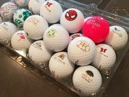LOT of Logo Golf Balls 3A/4A mix golf clubs hotels Hawaiian