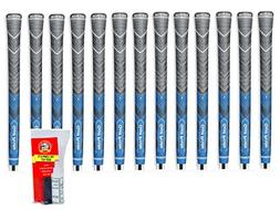 Golf Pride MCC Plus 4 Standard Blue - 13 Piece Grip Kit