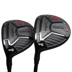 Senior Men's Majek K-Series Fairway 3 5 Wood Golf Clubs, Sen