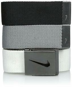 men s 3 pack web belt 4