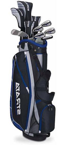 Callaway Men's Strata Plus Complete 16-Piece Golf Club Set w