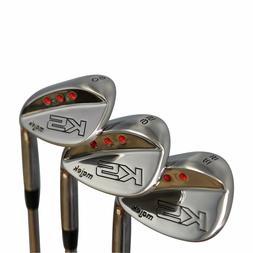 Majek Golf Men's Wedge Set 52° Gap Wedge-GW, 56° Sand Wedg