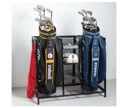 Metal Two Golf Clubs Bag Organizer, Equipment Accessories St