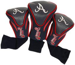 Team Golf MLB Atlanta Braves Contour Golf Club Headcovers ,