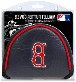 Team Golf MLB Boston Red Sox Golf Club Mallet Putter Headcov