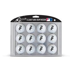 Team Golf MLB Chicago White Sox Golf Balls, 12 Pack