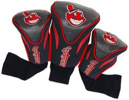MLB Cleveland Indians 3 Pack Contour Head Covers