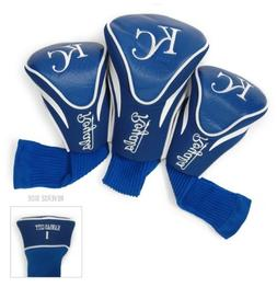 MLB Kansas City Royals 3 Pack Contour Head Covers