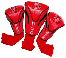 NCAA NC State Wolfpack 3 Pack Contour Head Covers