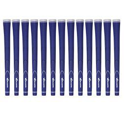 Karma Neion II Standard 13 Piece Golf Grip Bundle, Blue