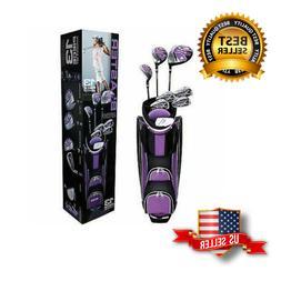 NEW 13 Piece Ladies Golf Club Set Right Handed Nitro Titaniu