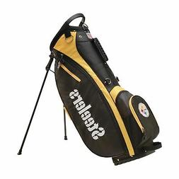 New - Wilson 2018 NFL Carry Golf Bag - Pittsburgh Steelers -