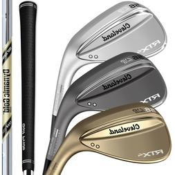 New 2019 Cleveland RTX-4 Blade Wedges - Pick from Raw, Black