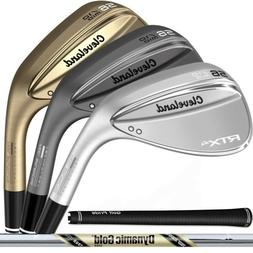 NEW 2019 Cleveland RTX-4 Wedge - Choose Your Loft, Color, an