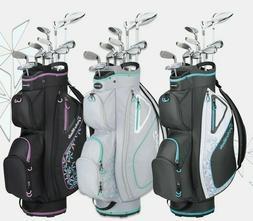 New 2020 Taylormade Kalea 11 Pc Ladies Golf Club set with Ba