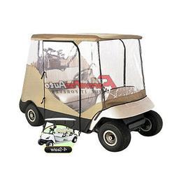New 4 Passenger Driving Enclosure Golf Cart Cover Fit EZ Go,